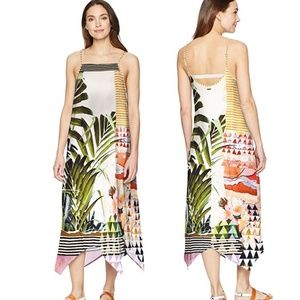 prAna Selene Tank Dress in Golden Paradise